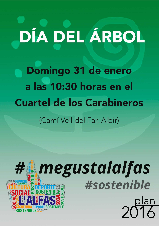 El ayuntamiento de l 39 alf s celebrar este domingo el d a for Dia del arbol 01 de septiembre