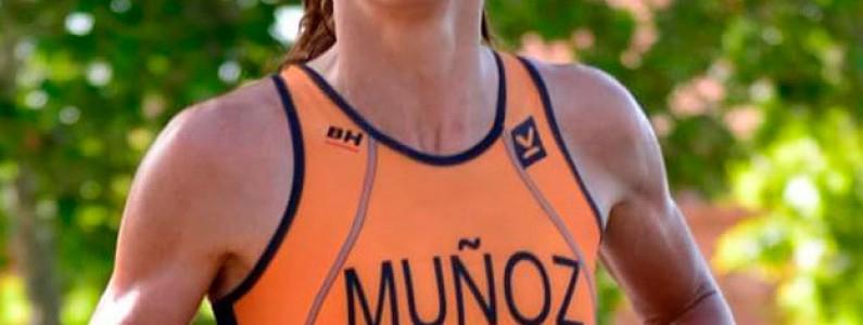 Miriam Muñoz, se ha proclamado Campeona Autonómica de duatlón
