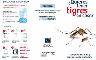 La FVMP concede a l'Alfàs una subvención de más de 7.000 euros para la lucha contra el mosquito tigre