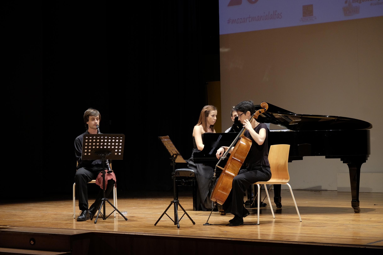 El Wood String Trio y el Quinteto de clarinetes de Altea pusieron el punto y final al XXVI Festival Mozartmanía