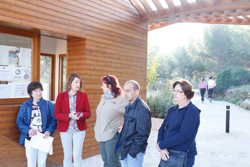 Campaña de recogida de alimentos en el parque natural de Serra Gelada