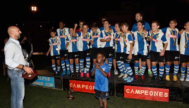 El Hércules ganó II Edición del Torneo L´Alfàs Summer Cup Mihatra 2015.