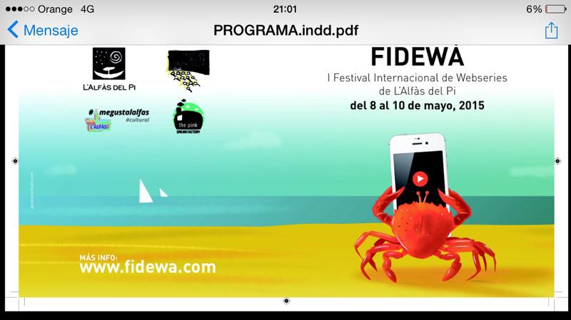 17 webseries compiten en la sección oficial de Fidewà