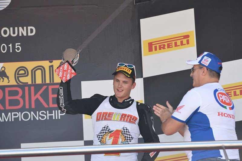 El alfacino Javier Orellana se proclama campeón de Europa Junior de  motociclismo en Jerez
