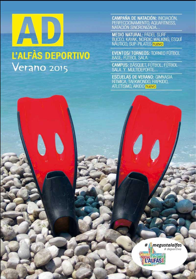 Hoy se ha presentado la oferta deportiva municipal de este verano 2015