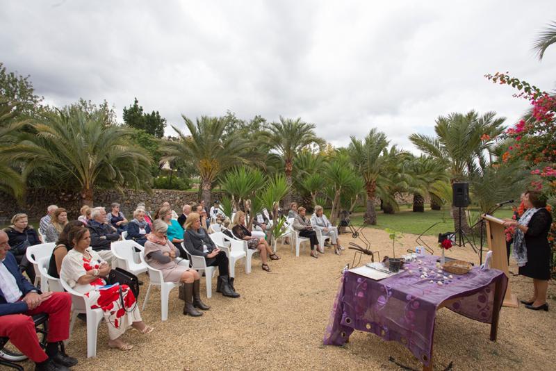 El Jardín Escultórico Klein Shreuder conmemora a los difuntos en el Día de Todos los Santos