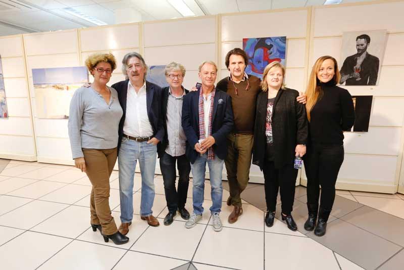 Exposición de pintura de Alberto Romero  Villalba y Hans Petter Fjugstad con motivo de las Jornadas Hispano Noruegas