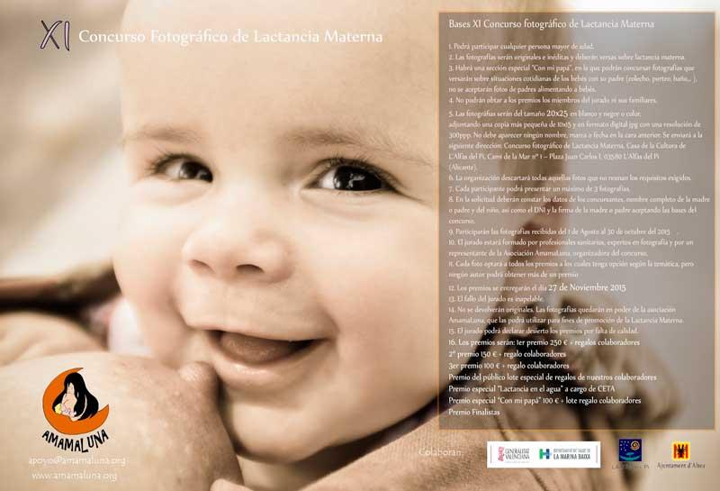 Se abre el plazo para participar en el XI Concurso Fotográfico de Lactancia Materna