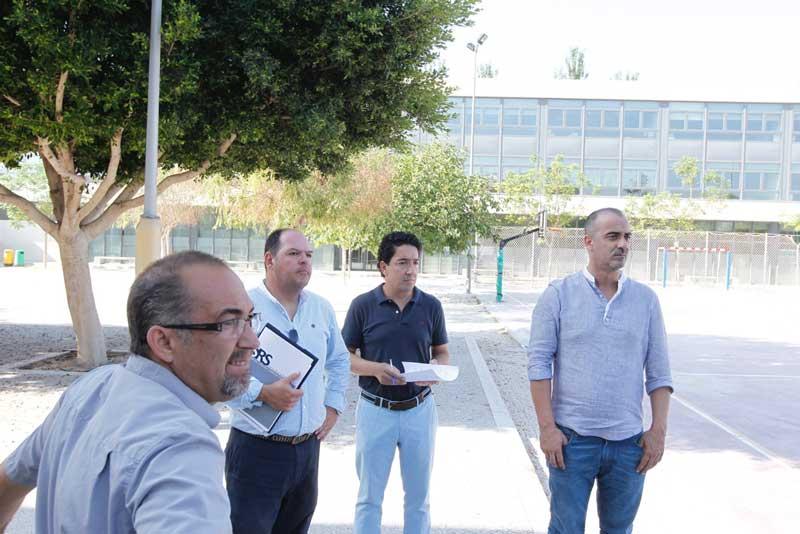 En marcha plan estival de rehabilitación y puesta a punto instalaciones escolares de L'Alfàs