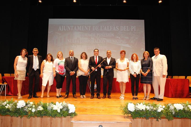Arques estrena legislatura trabajando con su nuevo equipo de gobierno