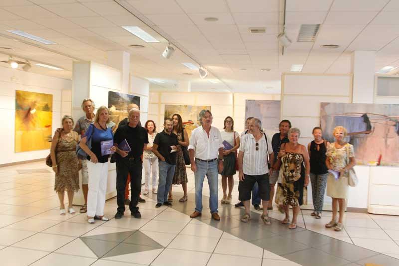 """Alberto Romero expone """"De silencio y luz"""" en la Casa de Cultura de L'Alfàs del Pi"""