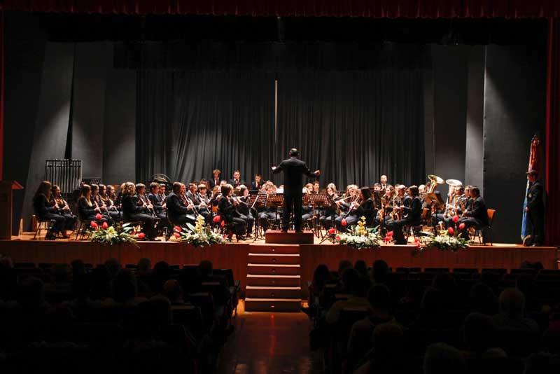 La Lira ofreció en la casa de cultura su tradicional concierto de Santa Cecilia