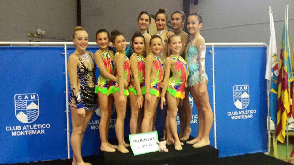 Nueve niñas de l'Alfàs del Pi se han clasificado para el Campeonato Autonómico de Gimnasia Rítmica que se celebra el día 12 de marzo en Valencia.