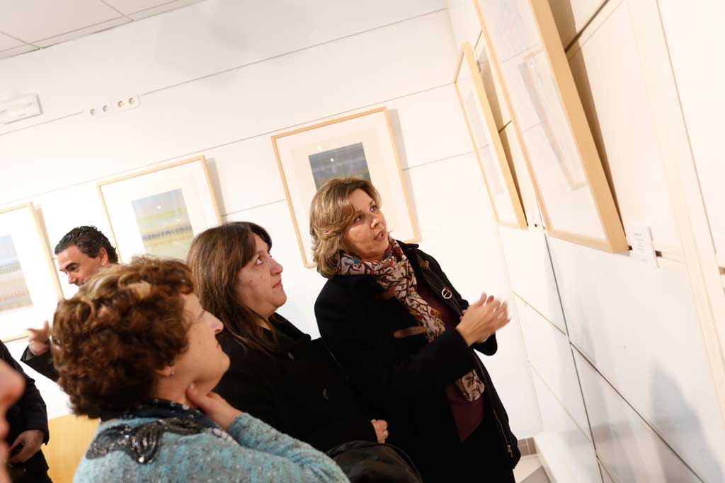 """La Casa de Cultura de l'Alfàs acoge la exposición """"Paisajes"""" de Eusebio Sempere"""