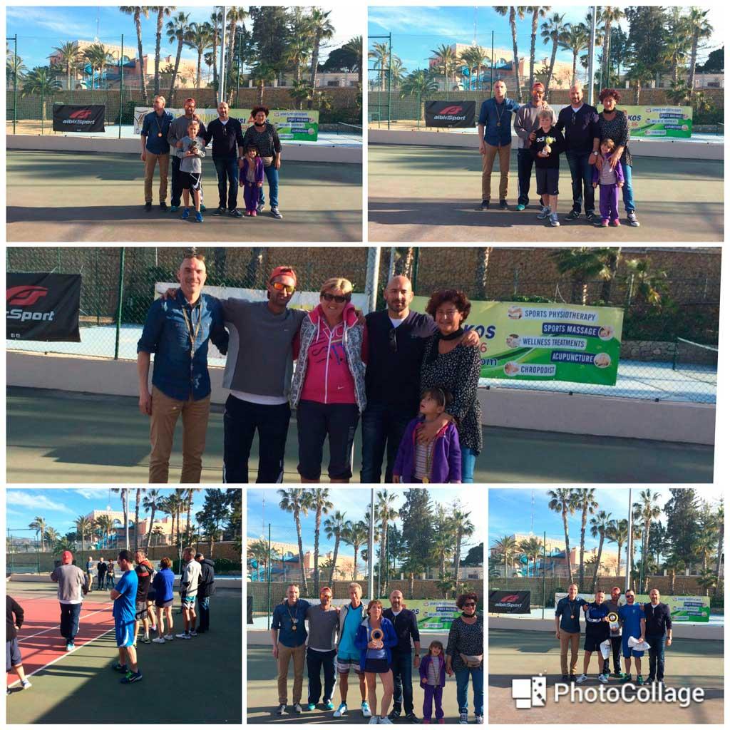 Este fin de semana se celebró el sexto torneo de tenis de dobles Open Mixto de l'Alfàs del Pi.