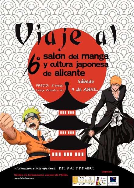 Juventud abre el plazo de inscripción para el viaje al Salón del Manga de Alicante