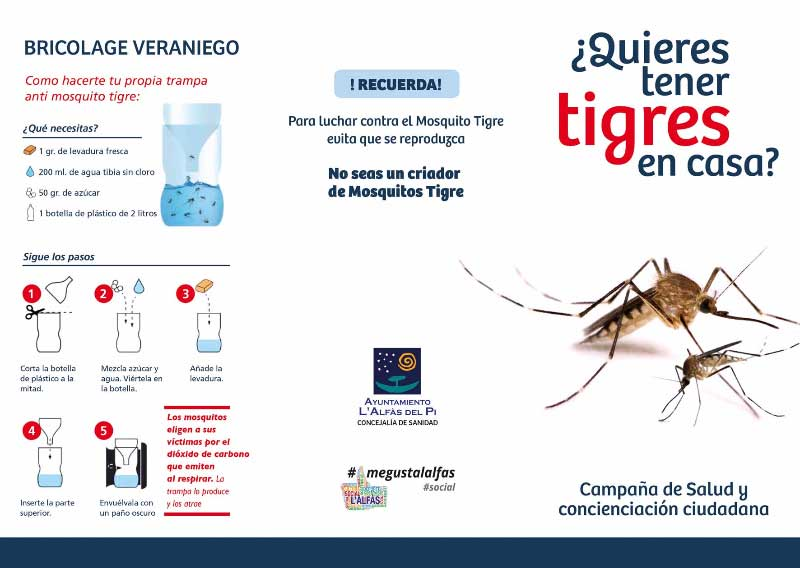 El Ayuntamiento de l'Alfàs usa drones para combatir el mosquito tigre