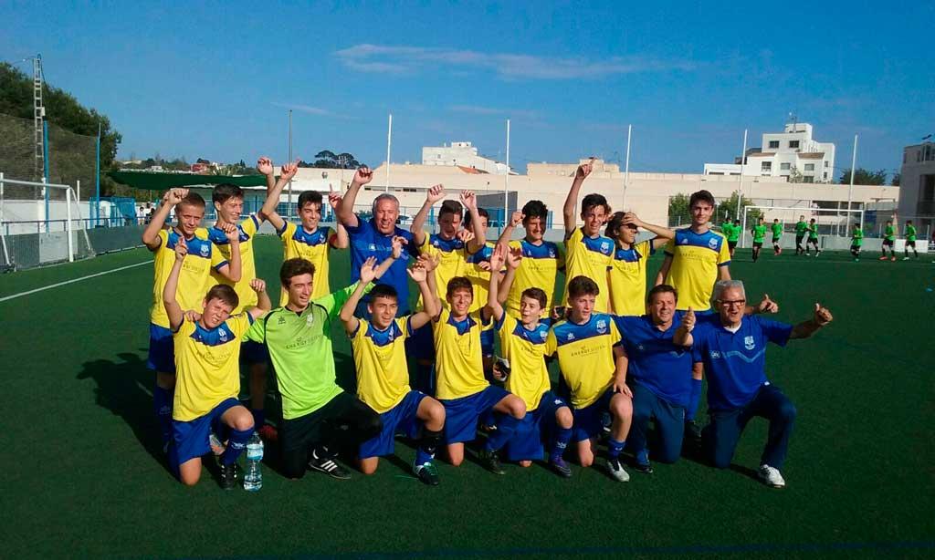 El equipo Cadete B de l'Alfàs del Pi gana la liga a falta de una jornada de la conclusión del campeonato.