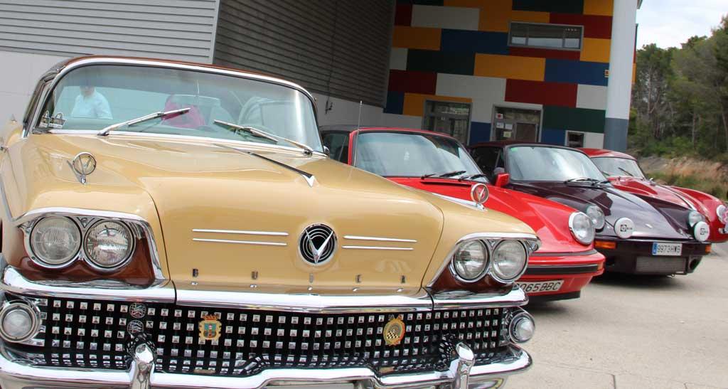 El próximo fin de semana se celebra  el V  Rally de coches clásicos  L'Alfàs del Pi – Segovia  de coches clásicos