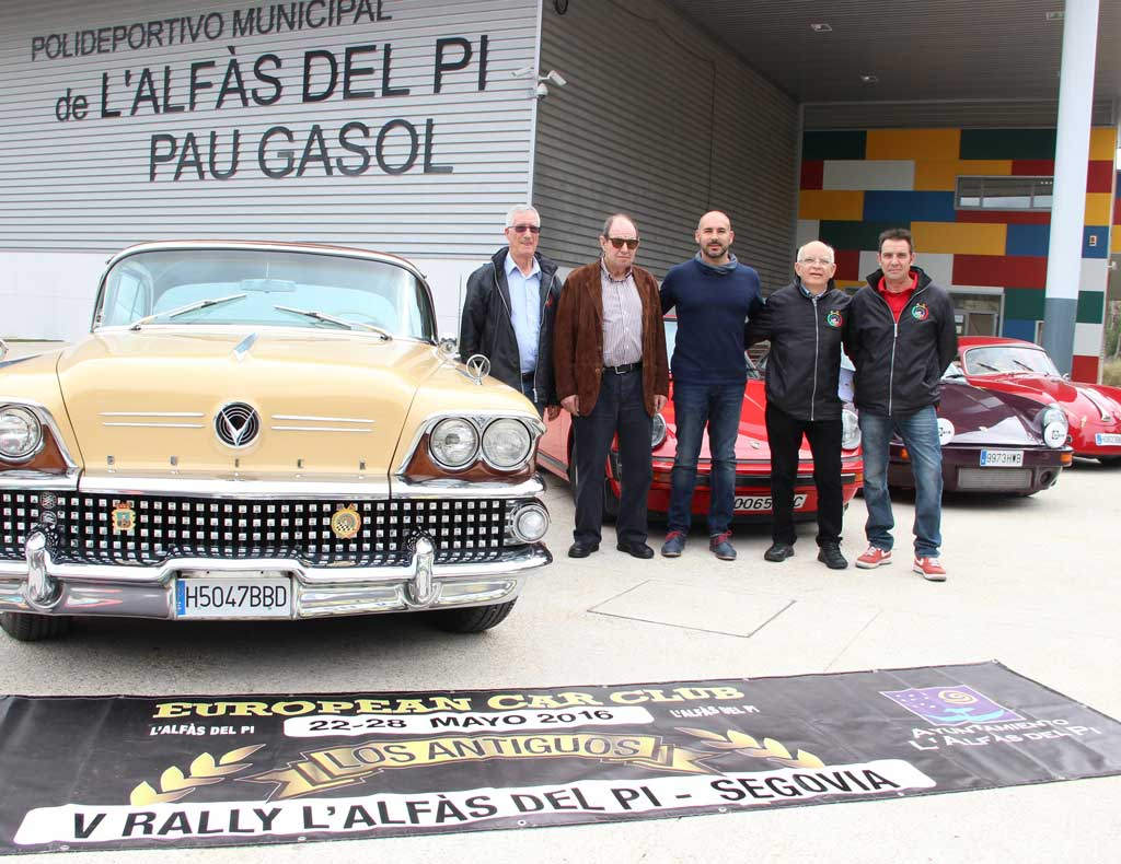 Presentado el  Rally L'Alfàs del Pi – Segovia  de coches clásicos