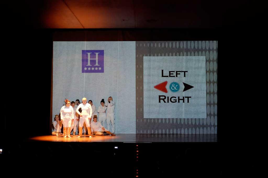Los alumnos del Taller de Teatro cierran el curso estrenando la obra de creación propia 'Left & Right' en la Casa de Cultura