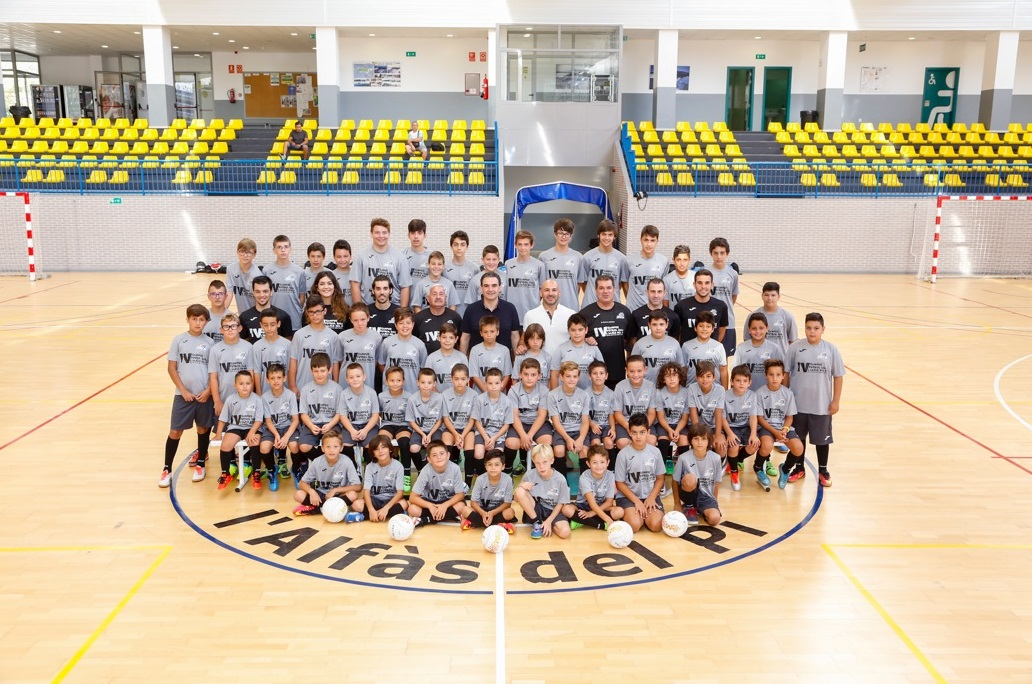 Este sábado comenzó  el IV Campus de Fútbol Sala de l'Alfàs del Pi