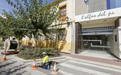 Los edificios municipales de l'Alfàs del Pi entran en una nueva fase de interconexión gracias a la fibra óptica