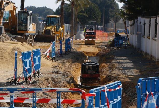 L'Alfàs invertirá más de 700.000 euros en la mejora de infraestructuras de alcantarillado