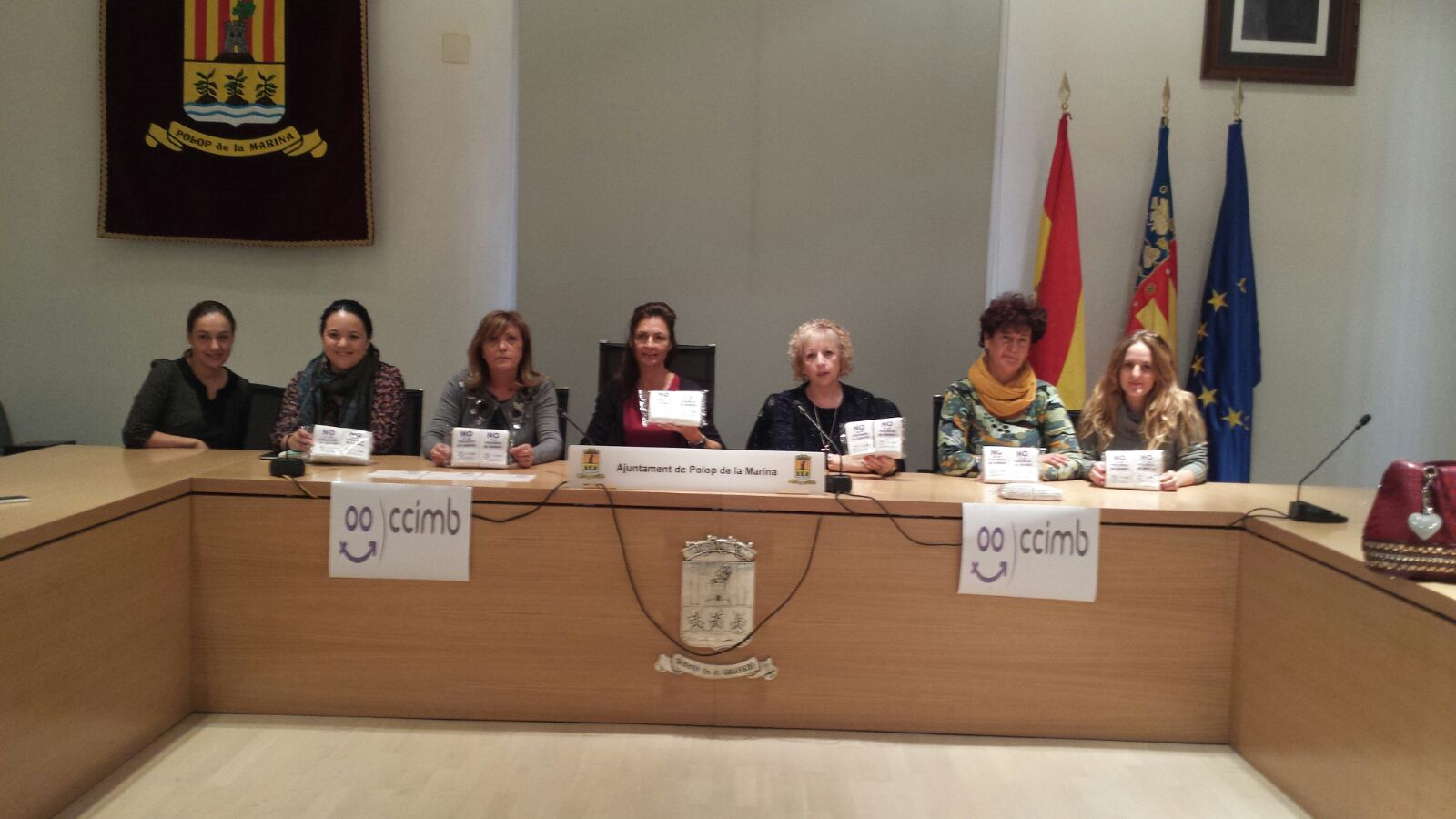 El Consejo Comarcal por la Igualdad de la Marina Baixa lanza una campaña de sensibilización junto a los hosteleros