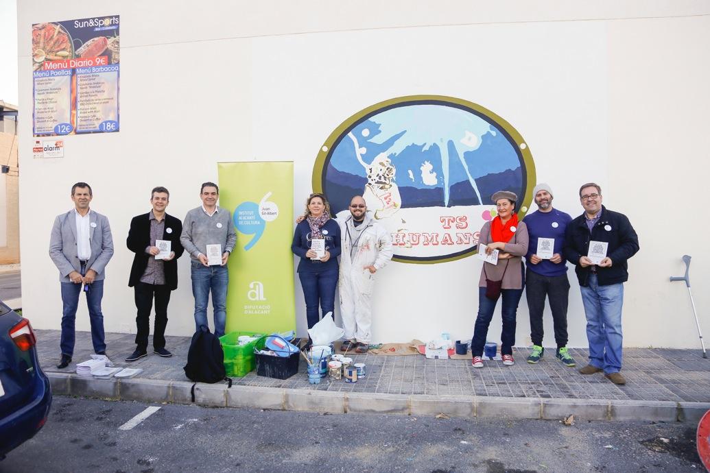 L'Alfàs conmemora el Día Internacional de los Derechos Humanos junto al Instituto Juan Gil-Albert