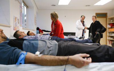 Doble cita con la donación de sangre en l'Alfàs del Pi