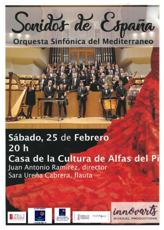 La Orquesta Sinfónica del Mediterráneo ofrecerá este sábado un concierto en la casa de cultura
