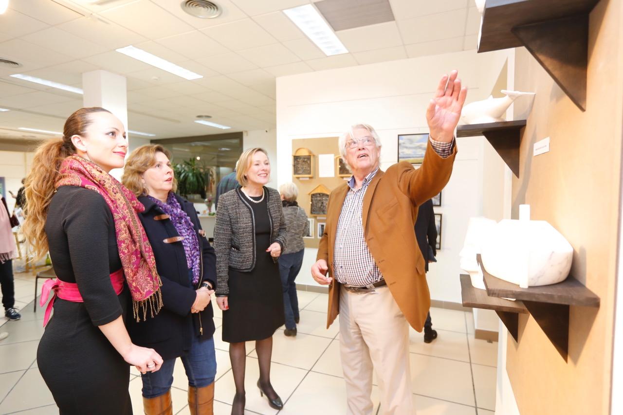 Dos artistas noruegos exponen en la casa de cultura de l'Alfàs del Pi