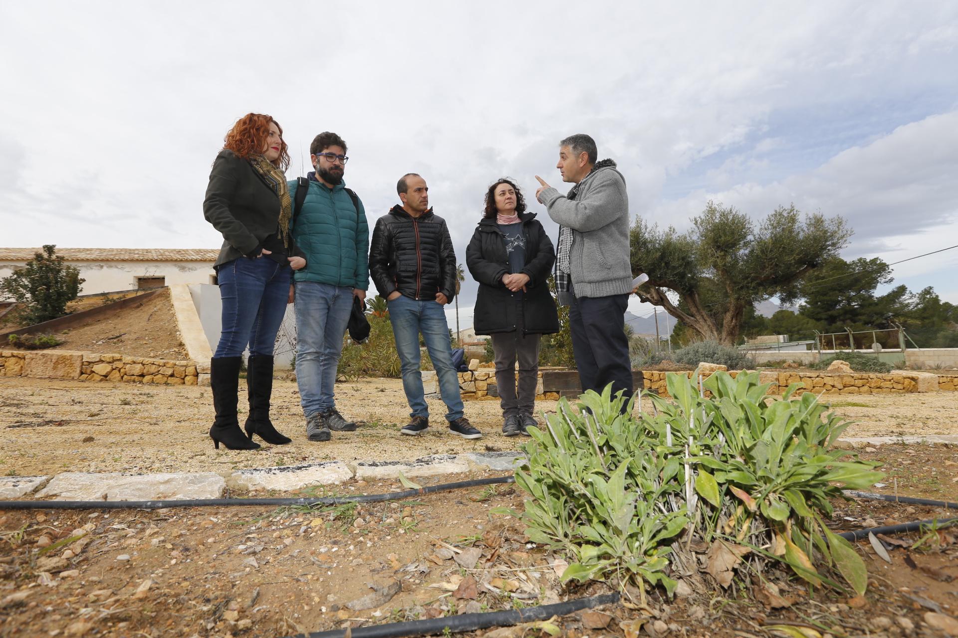 El Ayuntamiento de l'Alfàs y el CIEF trabajarán juntos en la conservación de la flora de Serra Gelada