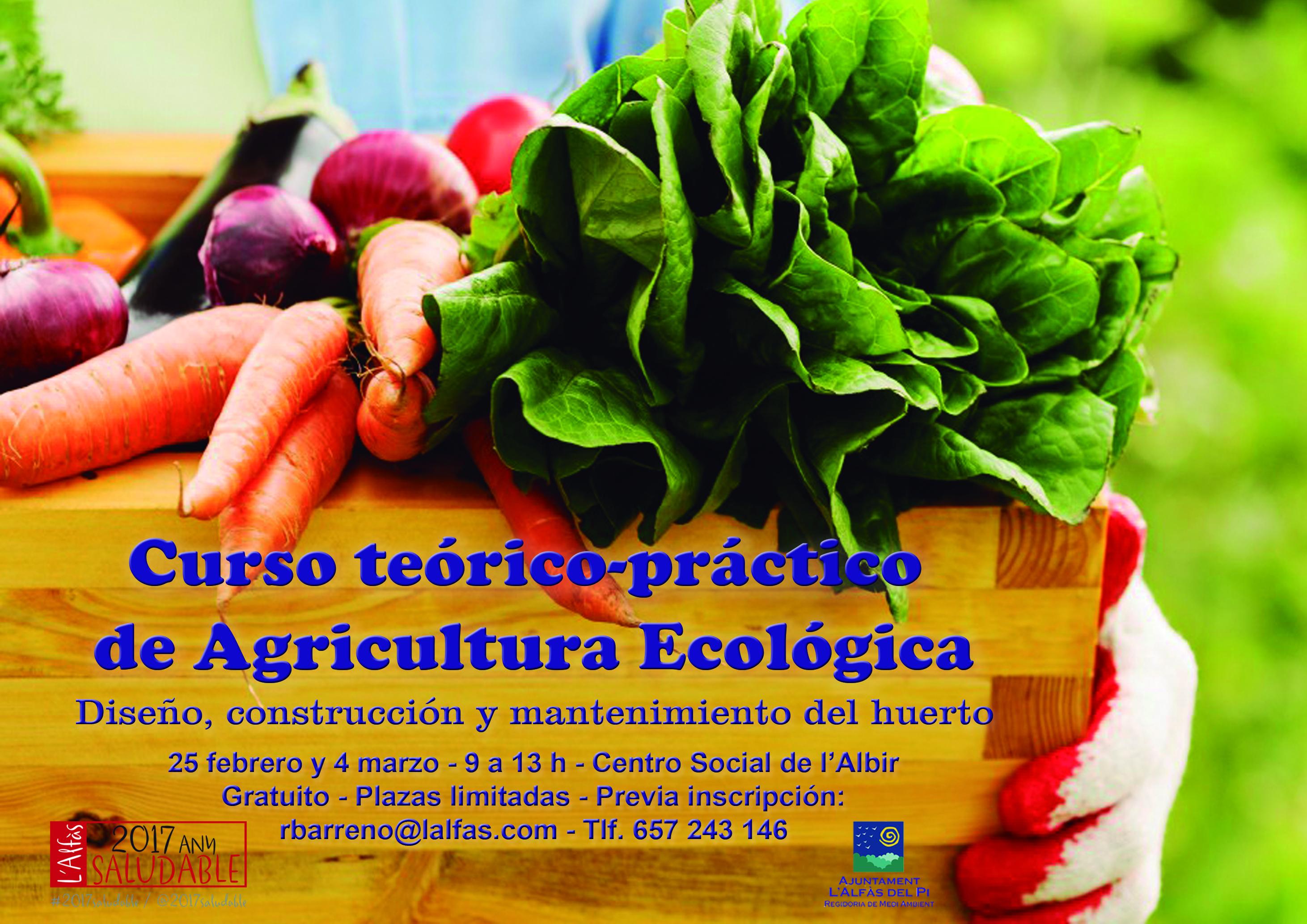 El Ayuntamiento de l'Alfàs organiza un curso gratuito de agricultura ecológica
