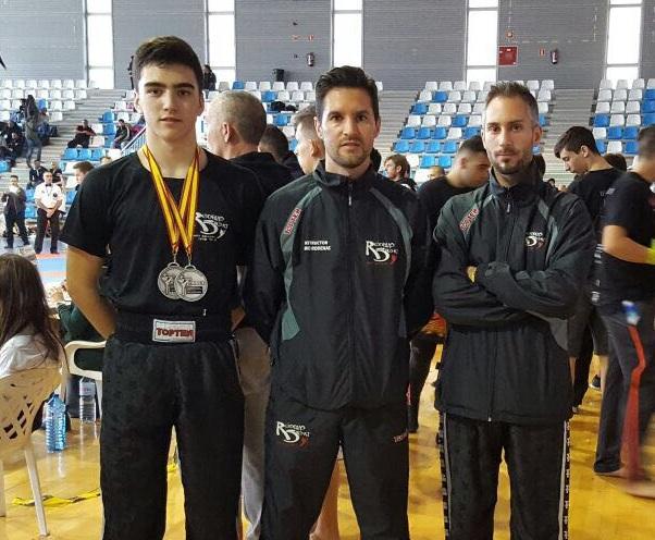 Dos platas y un oro para Gabriel Miralles y Francisco Zarco en  los campeonatos de Kickboxing de la Comunidad Valenciana