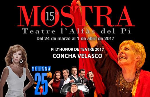 Mañana arranca la XV Mostra de Teatre de l'Alfàs del Pi