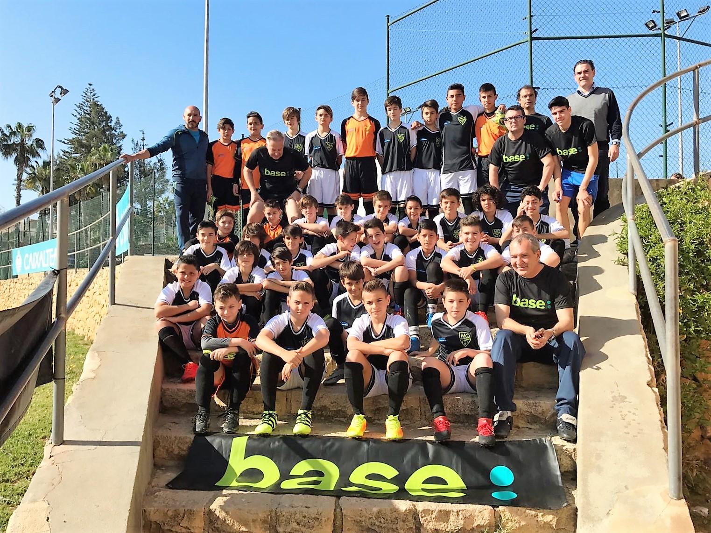 Celebrado el primer Clinic de Fútbol para niños de 10 a 13 años en l'Alfàs del Pi