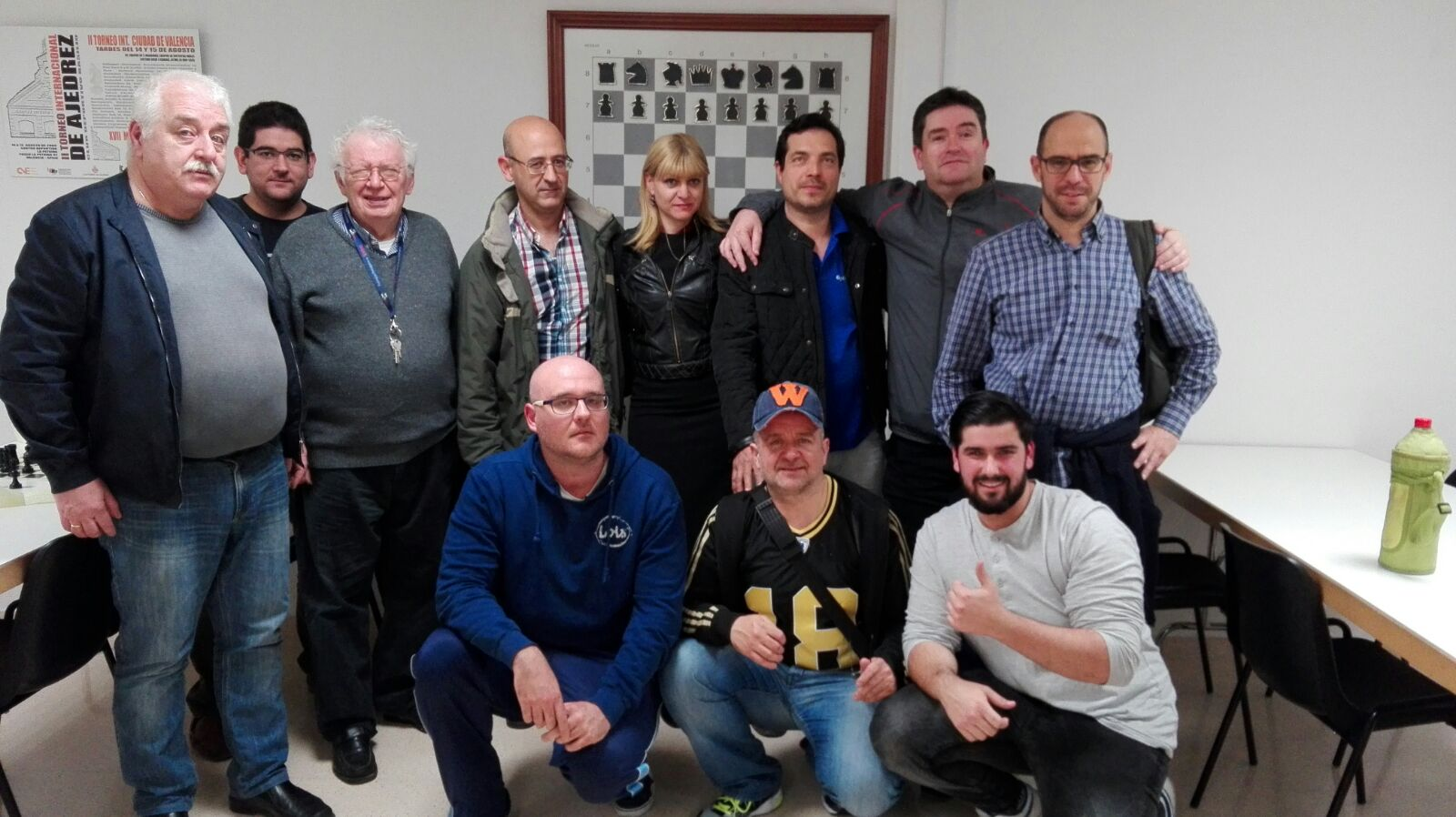 El  club de  ajedrez de l'Alfàs del Pi  sigue imparable y continúa el primero  de la liga autonómica.