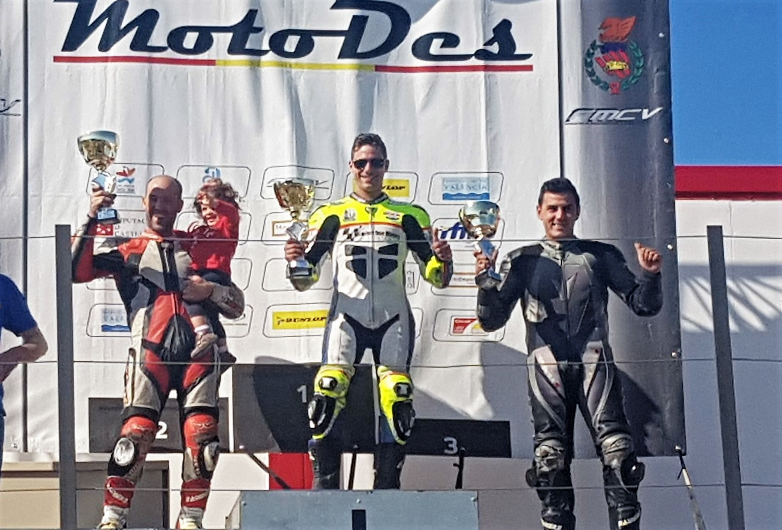Jorge Berenguer primero en la tercera carrera de la temporada en Chiva
