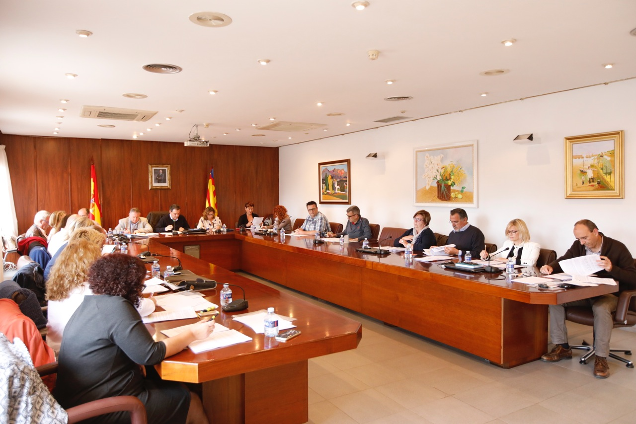 El Pleno de l'Alfàs procede a la aprobación definitiva del Reglamento Orgánico Municipal