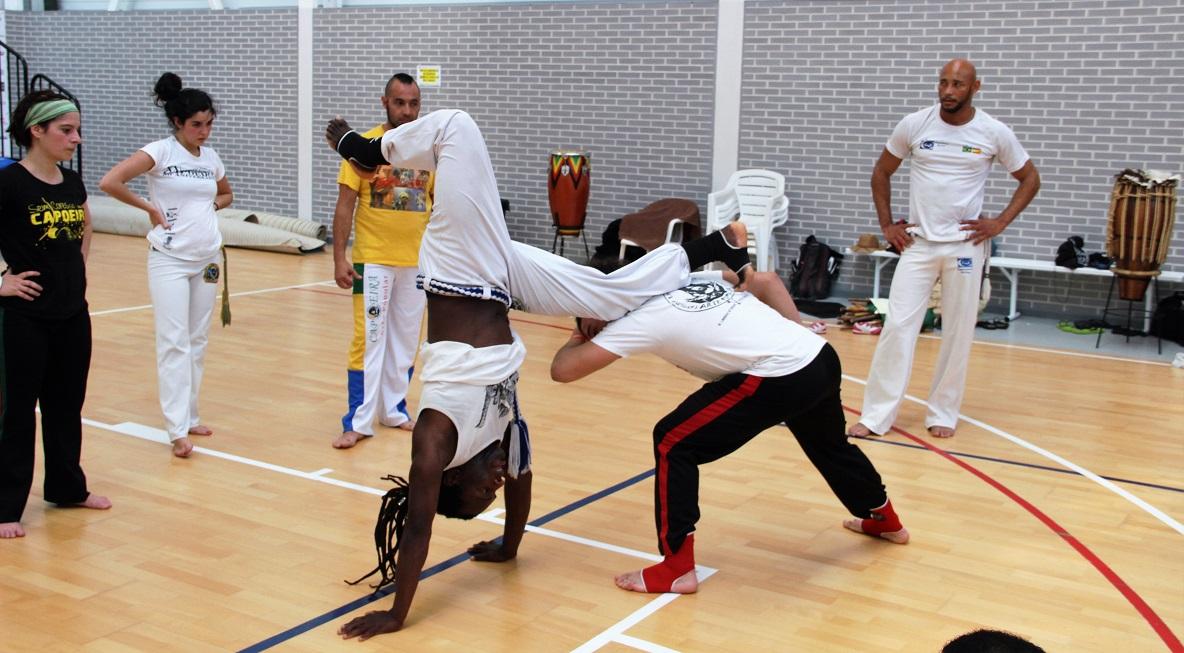 Este fin de semana se celebra el  5º encuentro Internacional de Capoeira en l'Alfàs del Pi.