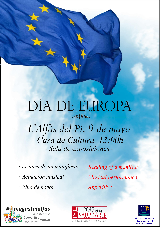 L'Alfàs del Pi celebra el Día de Europa como ejemplo de multiculturalidad e integración
