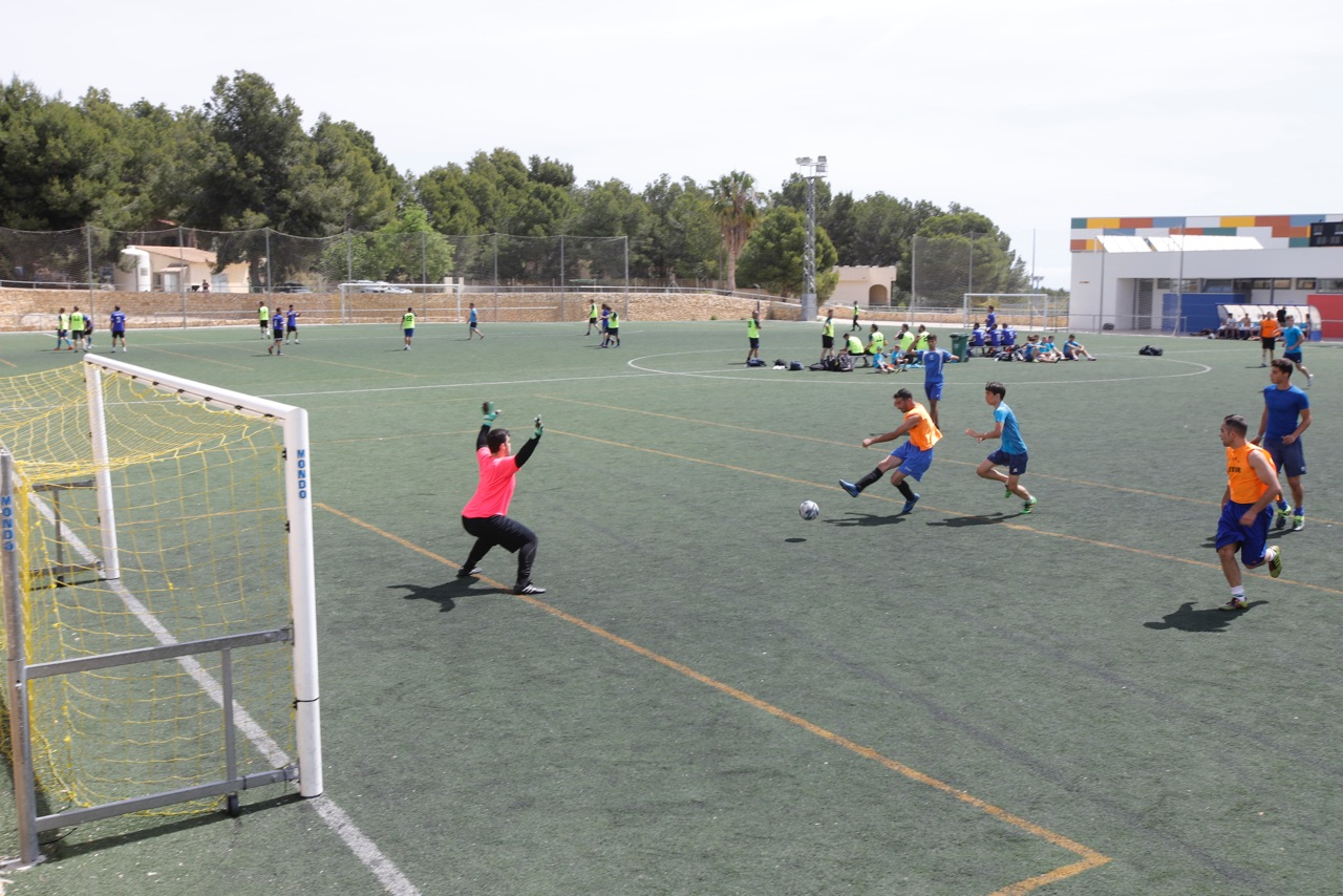 Impacte y  Supressió ganan el Torneo de Fútbol de Peñas de l'Alfàs