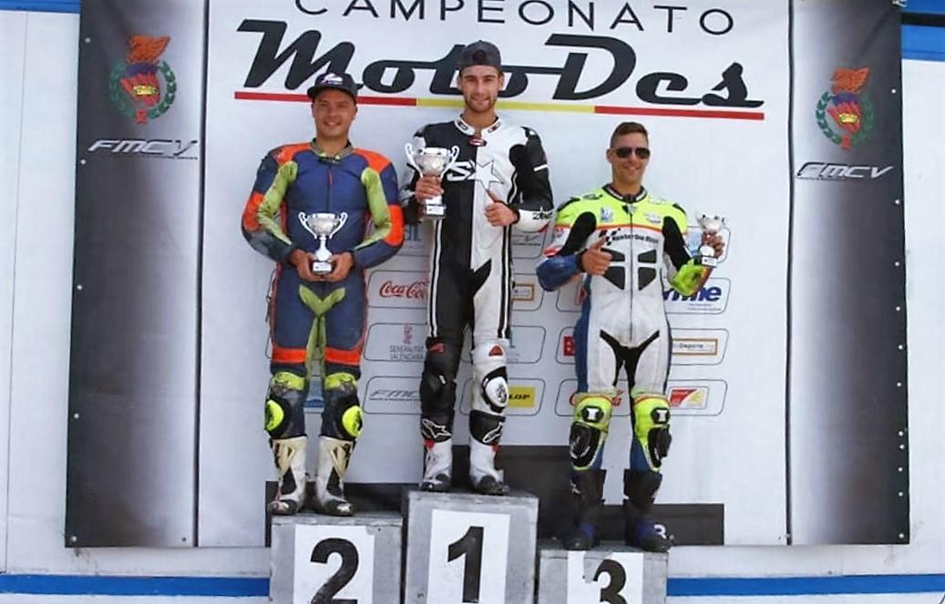 Jorge Berenguer sigue dando la talla en el campeonato de motociclismo de velocidad de la Comunidad Valenciana.