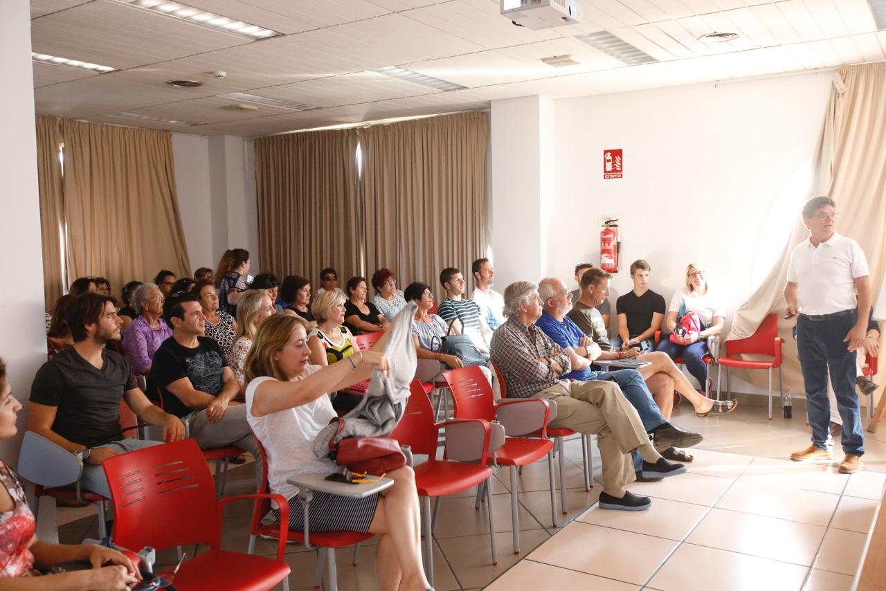 La Casa de Cultura acogió una charla coloquio con consejos para mejorar la salud