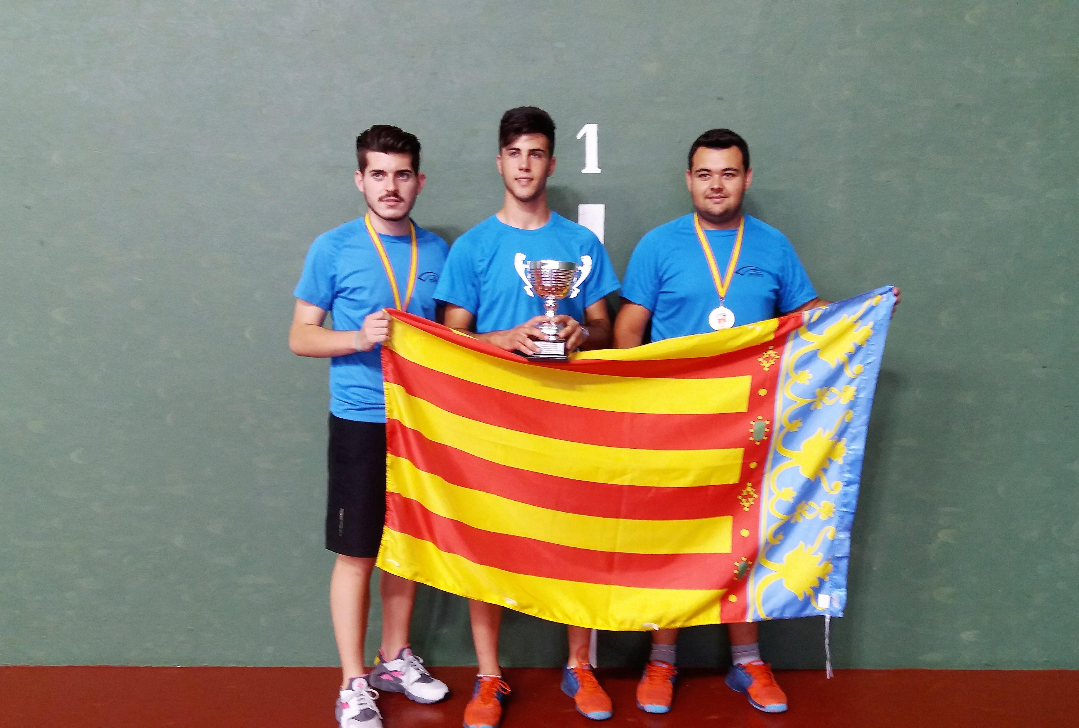 Aberto Gómez Alcorisa  se proclama campeón de España de Frontenis.