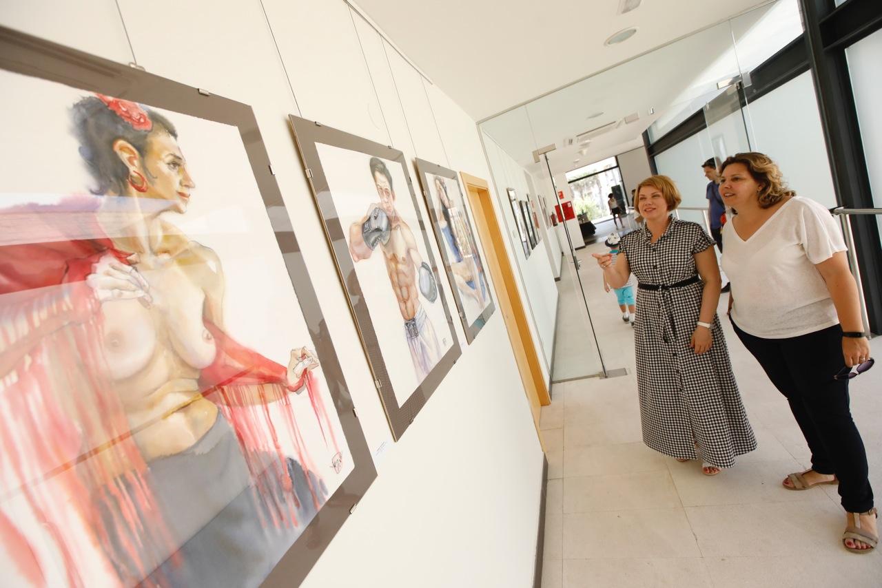 La pintora rusa Victoria Udalova expone en la Fundación Frax