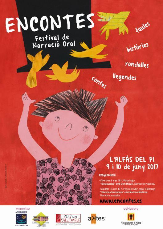 El festival Encontes de narración oral llega a l'Alfàs del Pi