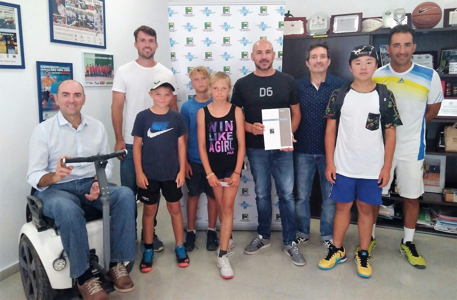 Presentada ante la concejalía la nueva junta directiva del Club de Tenis de l'Alfàs del Pi